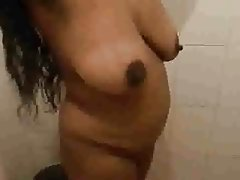 Big Boobs, Close Up, Indian, Massage, Shower