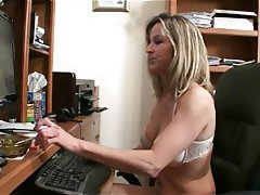Lesbian, MILF, Old and Young, Orgasm, Babe