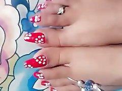 Femdom, Foot Fetish, Indian