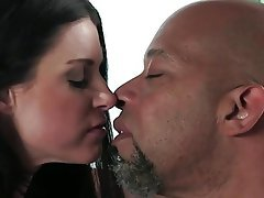 Blowjob, Brunette, Interracial, MILF