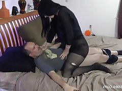 Creampie, Cumshot, Femdom, Old and Young, Stockings