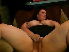 BBW, Big Boobs, Close Up, Masturbation