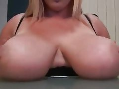 Masturbation, Big Boobs, Big Nipples