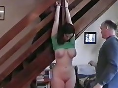 Amateur, Bondage, Cum in mouth, Threesome, Teen