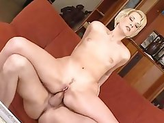 Anal, Blonde, Cum in mouth, Czech