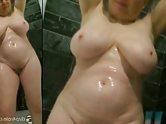 Amateur, Granny, Mature, MILF, Shower