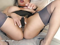 Webcam, Stockings, MILF, Lingerie, High Heels