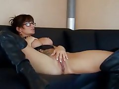 Anal, Babe, Big Boobs, Brunette, German