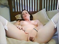Masturbation, Redhead, Webcam