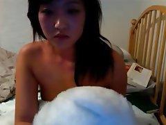 Amateur, Asian, Masturbation, Webcam
