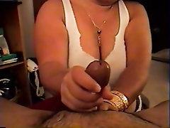 Big Tits, Handjob, Amateur, Homemade, Indian