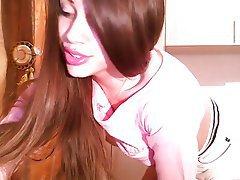 Amateur, Close Up, Skinny, Webcam