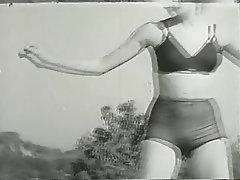 Blonde, Lingerie, Pantyhose, Softcore, Vintage