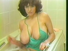 Big Boobs, Hairy, MILF, Shower, Vintage