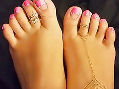 Babe, Close Up, Foot Fetish, Indian