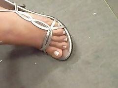 Foot Fetish, MILF, Mature