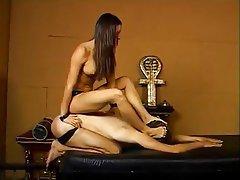 BDSM, Femdom, Foot Fetish, Pornstar, Spanking