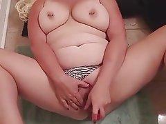 BBW, Bisexual, Masturbation, Orgasm